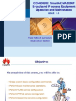 Huawei MA5200F Operation and Maintenance_OFN000202 ISSUE1.0