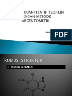 Analisis Kuantitatif Dengan Metode Argentometri