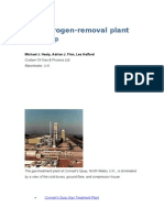U.K. Nitrogen-removal Plant Starts Up