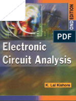 Electronic Circuit Analysis, Second Edition