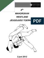 Programmaboekje Westlandtoernooi 2012