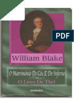 Willian Blake - O Matrimônio Do Céu E Do Inferno E O Livro D