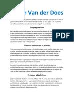 Pieter Van Der Does y La Gran Armada Holandesa