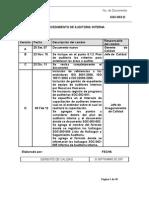 SGC-003 Auditorias internas