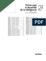 Fichas Para El Desarrollo de La Inteligencia 2