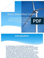 Direct Drive Wind Turbine
