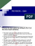 REVISION – Q&A