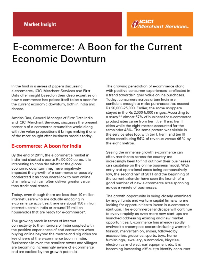 Ecommerce Good Paper 1 | E Commerce | Retail