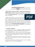 Comunicado Final Processo Seletivo Sebrae Nacional 01 12