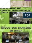 Role of Banks & Financial Institutions
