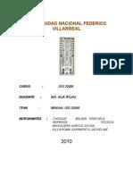 Manual de Calidad Fresa Iso 22000