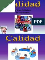 Presentacion Control de Calidad Ing Industrial Primer Semestre