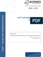 00 - VoIP Technologies Course Description