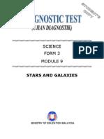 Module Science:Star & Galaxie