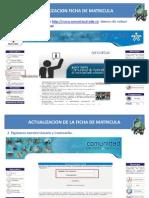 Actualización Ficha de Datos SENA