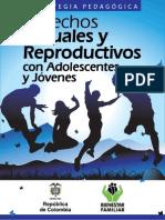DsSsRs Estrategia Pedagogic A Adolescentes y Jovenes