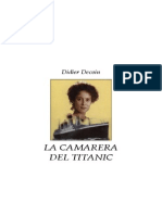 Decoin, Didier - La Camarera Del Titanic