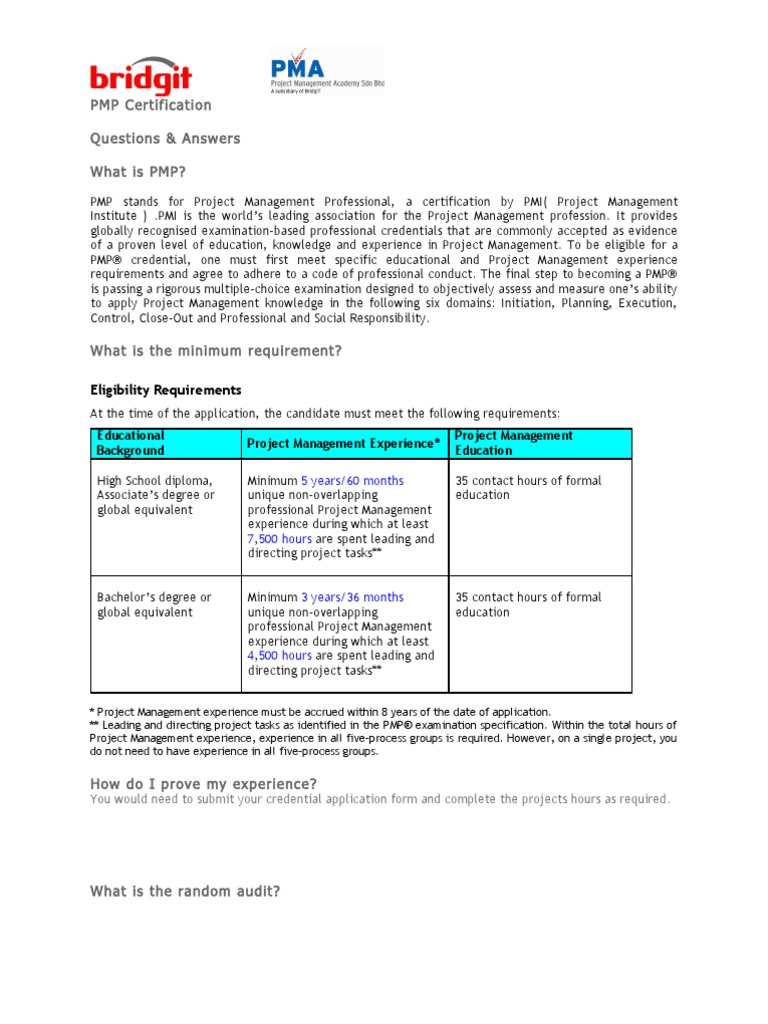Pmp q a project management professional project management 1betcityfo Image collections