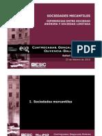 Sociedades Mercantiles Diferencias Entre Sa y Sl
