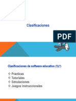 Clasificacion de Software Educativo