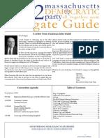 2012 MA Democratic Delegate Guide