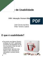 Teste de Usabilidade IHM Interacao Homem Maqu
