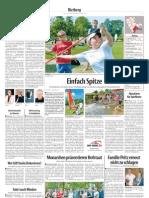 Einfach Spitze - Turbulentes Treiben beim Weltspieltag im Gartenschaupark in Neuenkirchen