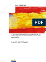 Guía del exportador. Oportunidades comerciales en España