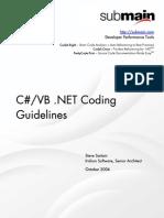 Submain DotNET Coding Guidelines
