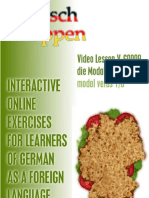 Video Lesson V-G0009 - die Modalverben - modal verbs 1/6