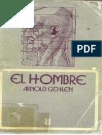 ARNOLD GEHLEN. EL HOMBRE. INTRODUCCIÓN