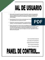 Manual de Panel de Control