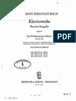 Bach WTK 2 Book 1