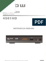 Instrukcja Obslugi BLOW 4501HD