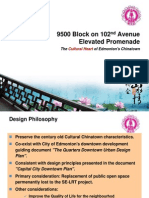 Chinese proposal for a 102nd Avenue Promenade