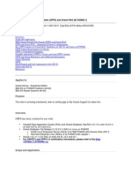 IBM General Parallel File System (GPFS) and Oracle RAC [ID 302806.1]
