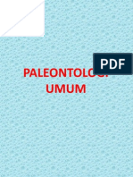 Kuliah Paleontologi Umum