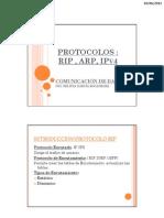 Protocolos Rip,Arp,Ipv4