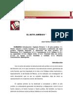 EL ACTO JURÍDICO - UNIVERSIDAD LATINA DE AMÉRICA