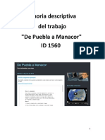 Memoria Puebla Manacor