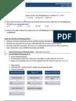 Church Planting - Worksheet #1