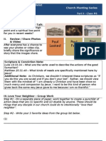 Church Planting - Worksheet #6 (Know Your Neighborhood_part3)