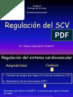 Regulación SCV