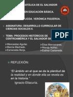 PROCESOS HISTÓRICOS DE E.S. Y C.A.