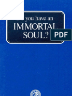 Do You Have an Immortal Soul (Prelim 1973)