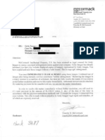 Attorney Timothy B. McCormack Settlement Demand Letter (Short Version)