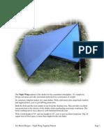 Pattern_NightWing Tarp Tent