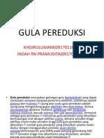 GULA PEREDUKSI