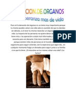DONACION DE ORGANOS