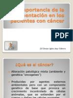1.3 Nutricion CANCER